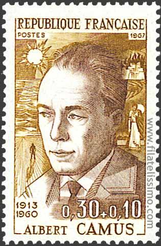 1967 Francia Personajes Famosos Camus