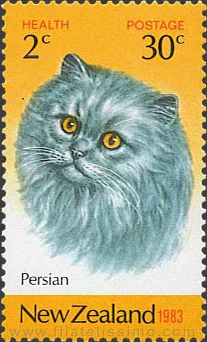 1983 Nueva Zelanda Gatos Persa