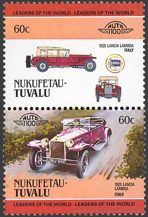 1984 Tuvalu Coches 60c