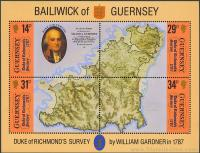 Bicentenario del 1º mapa de la Isla establecido por orden del Duque de Richmond.