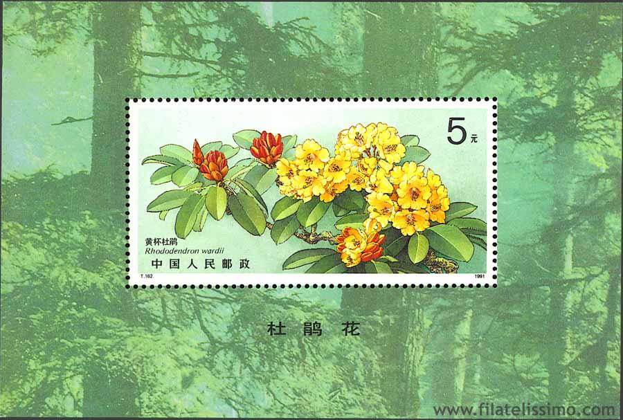 1991 China Hb Rododendro