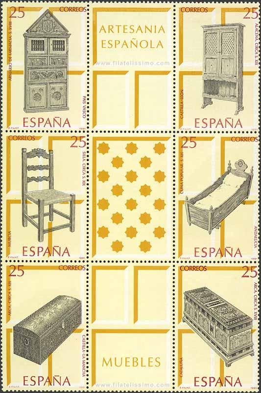 1991 Espana Bloque Artesania Espanola