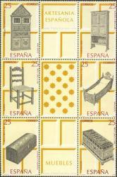 Artesanía española. Muebles.