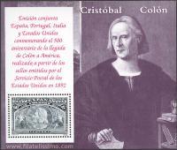 Busto de Colón.