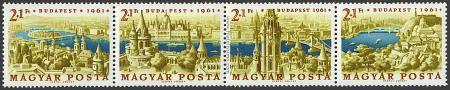 Exposición Filatelica Budapest 1961.