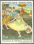 Degas, Edgar Hilaire; La Bailarina del ramo.