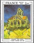 Vincent Van Gogh. La Iglesia de Auvers.