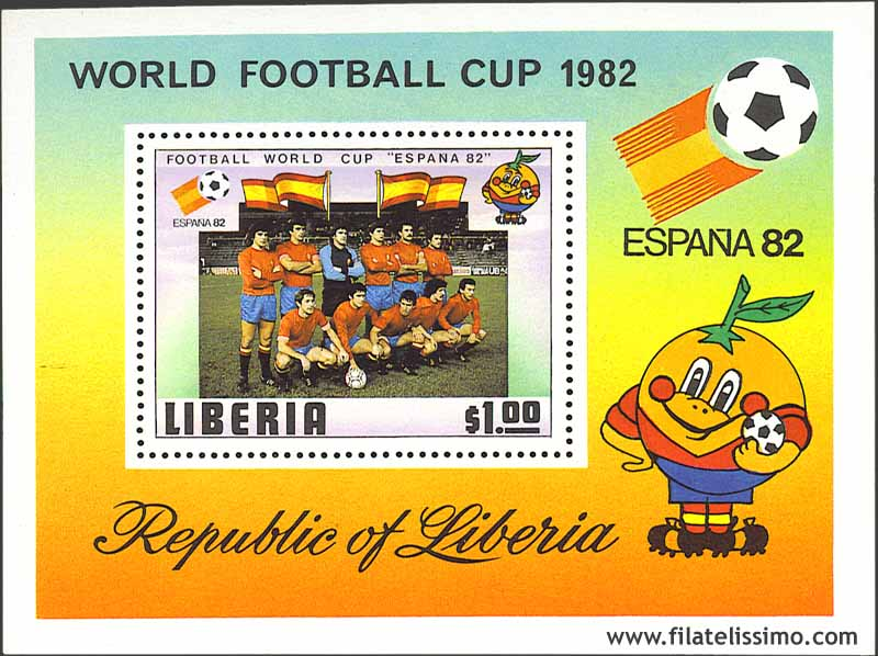 1982 Liberia Espana82