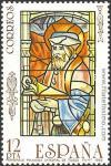 Vidriera de la Catedral de Toledo.