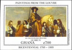 El Canciller Séguier, de Charles Le Brun.