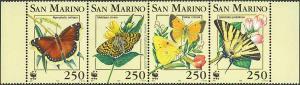Mariposas WWF.