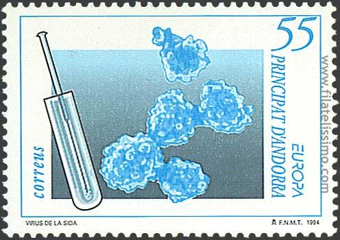1994 Andorra Europa55