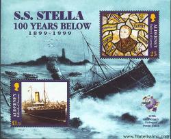 Centenario del naufragio del barco S.S. Stella.