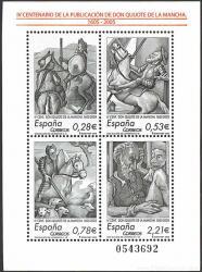 IV Centenario de la Publicación de Don Quijote de la Mancha.