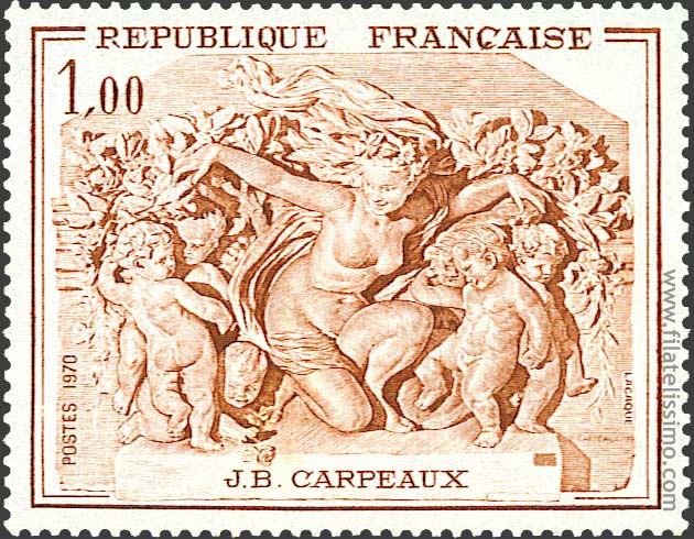 1970 Francia Carpeaux