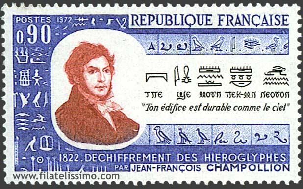 1972 Francia Champollion