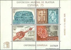 Orfebrería española Hoja 1