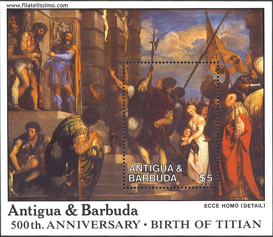1988 Antigua Hb Tiziano