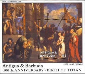 Tiziano Vecellio. Ecce Homo, 1543