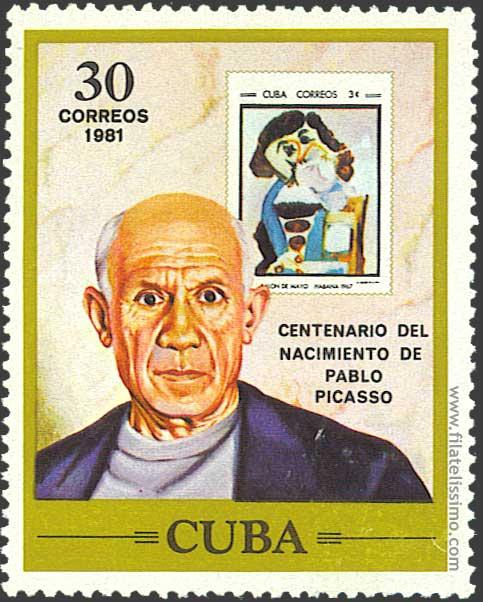 1981 Cuba Picasso