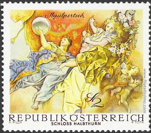 1968 Austria Frescos06