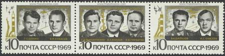 Tripulaciones Soyuz 6, 7 y 8