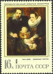 Retrato de familia, Van Dyck.