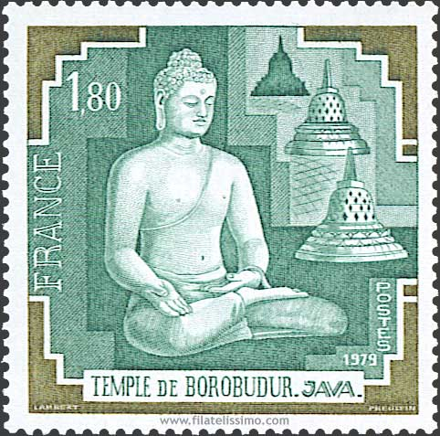 1979 Fra Borobudur