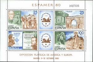 Exposición Filatélica de América y Europa, ESPAMER'80