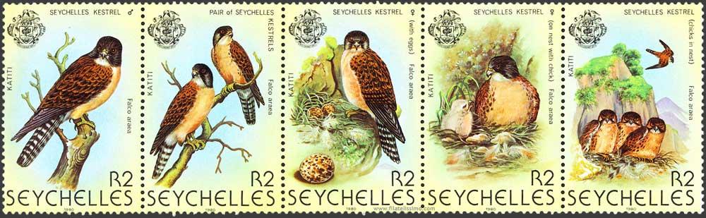 1980 Seychelles Halcon