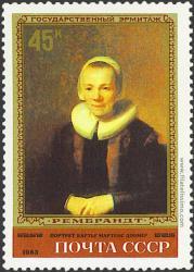 Retrato de Mme. B. Martens-Doomer.