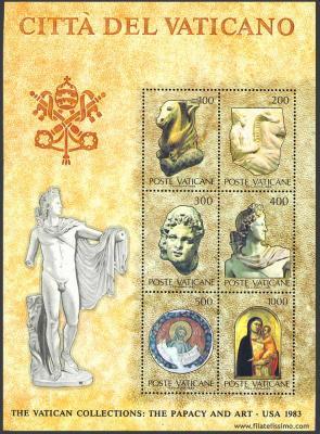 Las Colecciones del Vaticano; El Papado y el Arte HB02