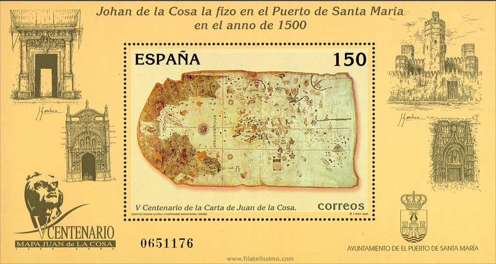 2000 Esp Hb Juan De La Cosa