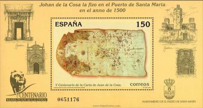 HB: V Centenario de la Carta de Juan de la Cosa