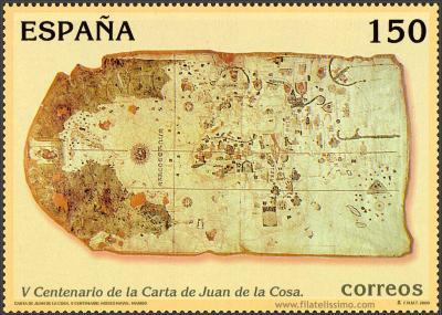 V Centenario de la Carta de Juan de la Cosa
