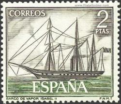 Barco de vapor - Isabel II