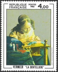 Jan Vermeer - La encajera