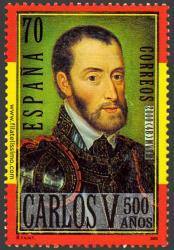 Carlos V a los 40 años