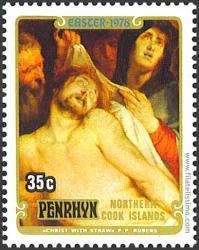 Cristo con la corona de espinas.