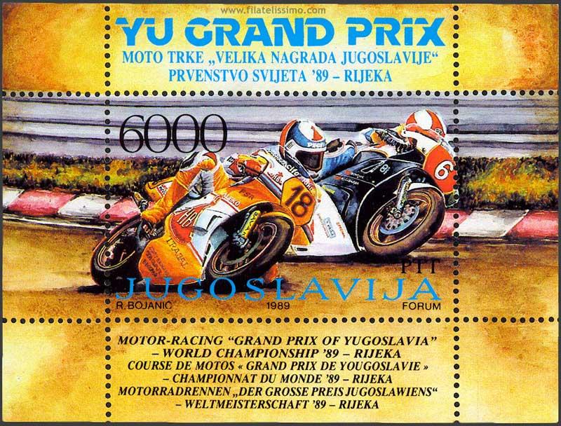 1989 Yug Motociclismo