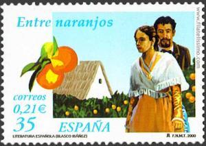 Entre naranjos, de Vicente Blasco Ibáñez