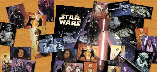 Star Wars en Sellos