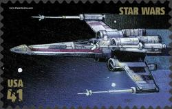 Un X-wing fighter