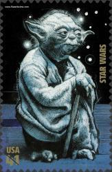 El servicio postal EEUU emite una serie de Star Wars en Sellos