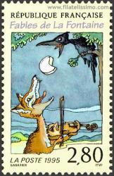 El cuervo y el zorro.
