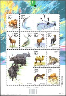 Fauna, China.