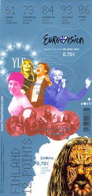Sellos de Eurovisión 2007