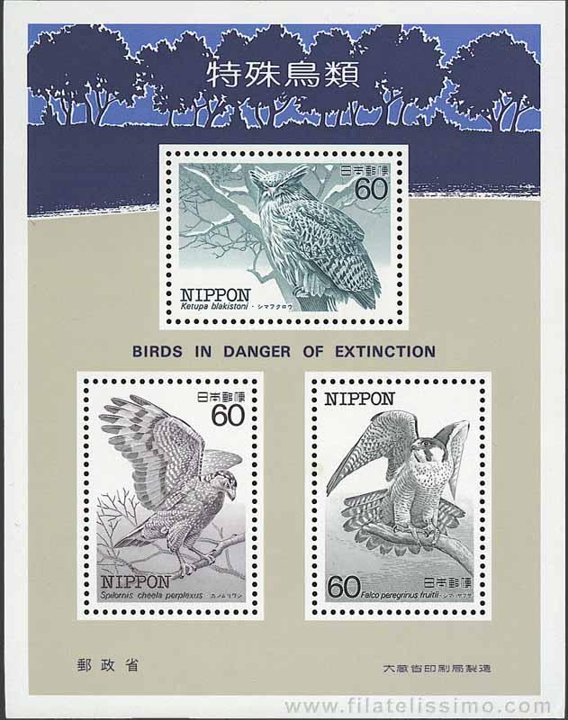 Japon Aves Peligro