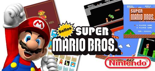 Super Mario Bros en Sellos