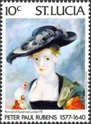 Retrato de Susana Lunden.